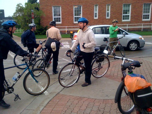 Detroit Ride Your Bike To Work Day - Ferndale Stop