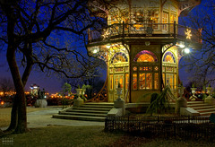 Patterson Park Pagoda - Baltimore, Maryland (crabsandbeer (Kevin Moore)) Tags: longexposure history night pagoda twilight colorful cityscape maryland landmark baltimore bluehour hdr pattersonpark