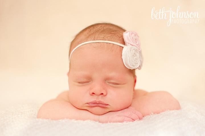 newborn baby girl tallahassee florida photographer