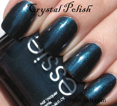 Essie Dive Bar (CrystalPolish) Tags: blue shimmer essie divebar
