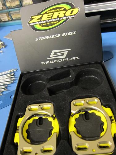 Speedplay stainless Zero