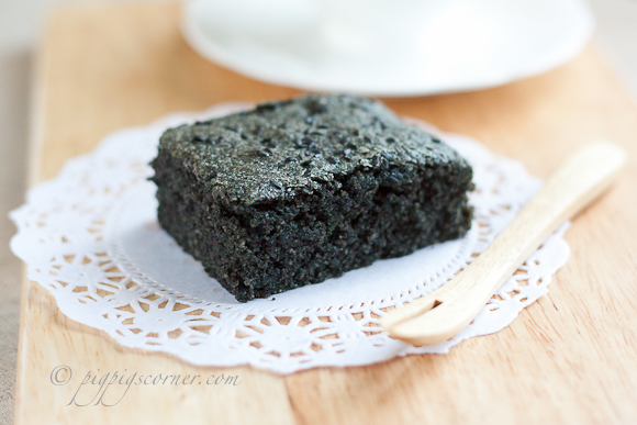 Black Sesame Brownies