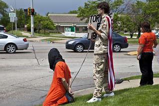 Anti-Torture Vigil - Week 50: Detainee's Captor