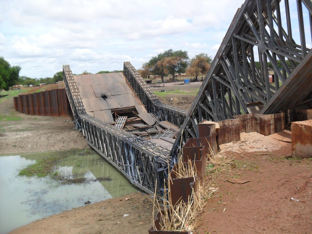 Destruction of Banton Bridge, Abyei Town