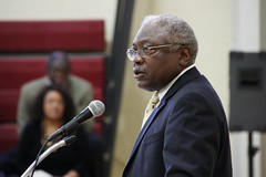 Clyburn at town hall