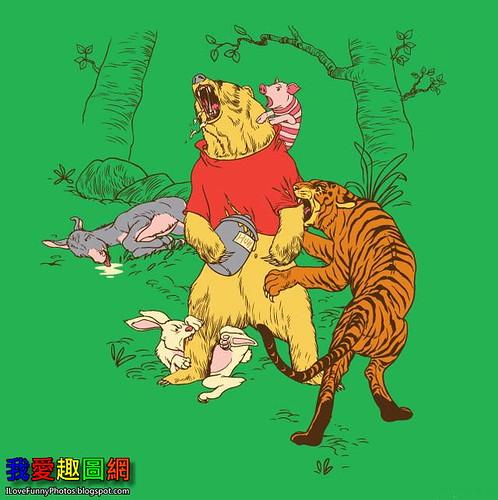 小熊維尼暴力版 Winnie the Pooh [我愛趣圖網]