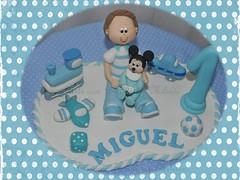 Topo do Miguel (artecombiscuit) Tags: topo arte biscuit brinquedos topobolo artecombiscuit