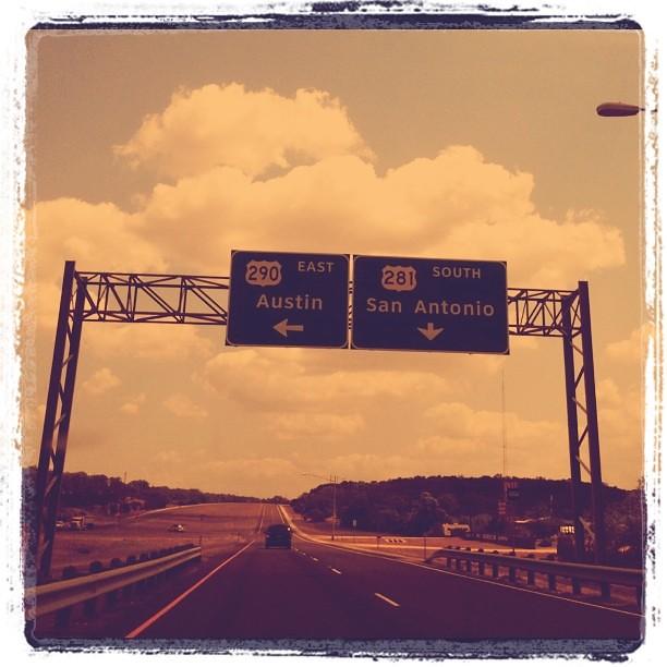 Austin this way.  <-