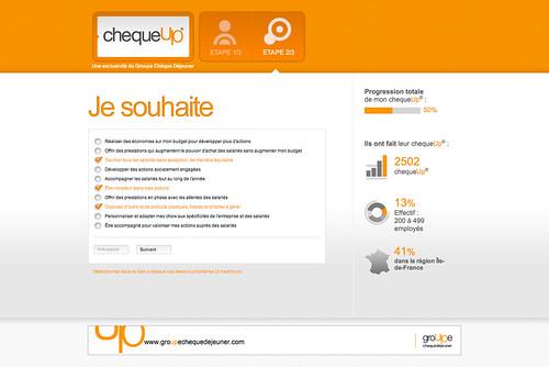 Page de diagnostic - ChequeUp