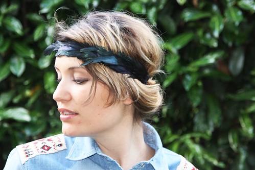 headband plumes