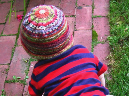 self-striping baby hat 2