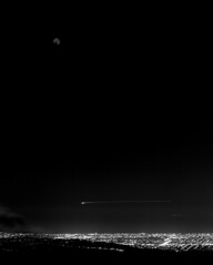Totality (polyglot) Tags: moon 120 night eclipse timelapse aircraft d76 adelaide picaday filmscan acros rz67 jobo mtlofty