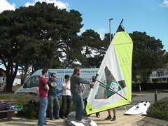 Corporate Windsurfing Lesson
