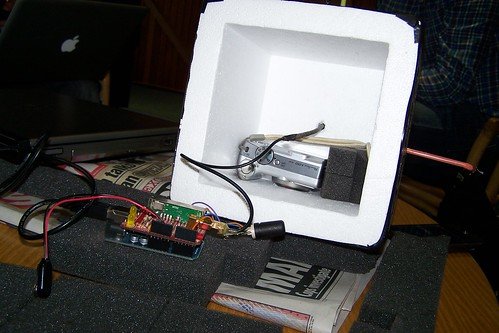 The Weasel Arduino Tracker launched on Nova 19