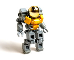 Concept Suit #2 (Cam M.) Tags: light yellow cool lego awesome concept epic hardsuit bley