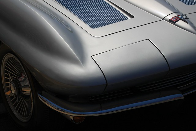 corvette sting ray detail