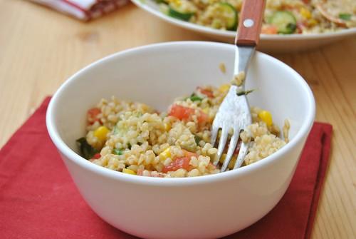 Colourful Summer Bulgur Salad