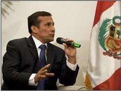 Ollanta Humala, presidente electo del Perú