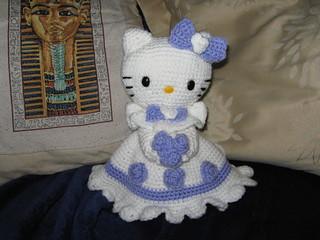 Free Amigurumi Patterns Hello Kitty : Ravelry hello kitty victorian wedding couple pattern by mel smallman