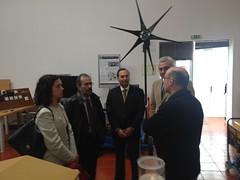 Paulo Rangel em visita ao LAMTEC,Centro de Energia e Investigação