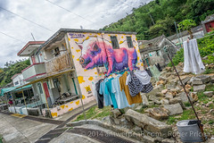 Over in Lo So Shing village it's laundry day at Pig Pig (antwerpenR) Tags: china travel hk cn hongkong asia southeastasia asean 5photosaday