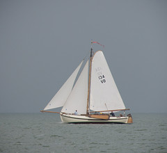 NK Platbodem - Monnickendam 2013 (lambertwm) Tags: zeilen sailing ijsselmeer wedstrijd nk festinalente platbodem monnickendam vb134 vb134bijlegger