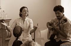 Ana K . Garcia (Argentina) & Gaddafi Nuez (Peru) (andreroseta) Tags: brussels peru argentina k festival canon living ana room garcia ixelles nuez 2014 gaddafi bruxellles muziekublique