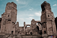 Iconic Rome Buildings (Tony Hodson Photography) Tags: rome italy parthenon colosseum history roman ancient forum romanum