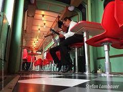 Bonde Arte (Stefan Lambauer) Tags: bonde bondearte bonderestaurante tram tramway music valongo turismo tourism touristic art old stefanlambauer 2016 brasil brazil santos sãopaulo br