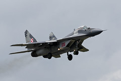 Mikoyan-Gurevich MiG-29A - 10 (NickJ 1972) Tags: raf fairford riat royalinternationalairtattoo airshow 2016 aviation mikoyan gurevich mig29 fulcrum 108