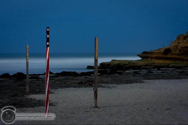 Del MAr Dog Beach at Night 32011 © Michael Klayman-004