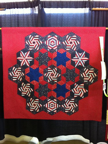 2011 Dallas Quilt Show-patriotic quilt