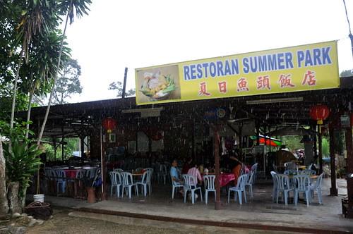 Restaurant Summer Park