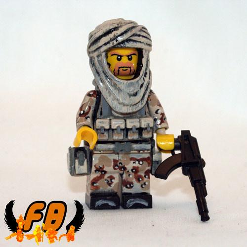 Custom minifig Middle East US Specialist custom minifig
