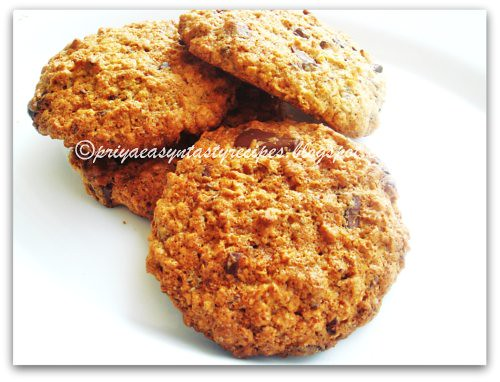 Grapefruit Breakfast Cookies