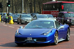 Two-tone (PK Wright) Tags: blue two france london k silver de italia tour phil ferrari p wright tone 458