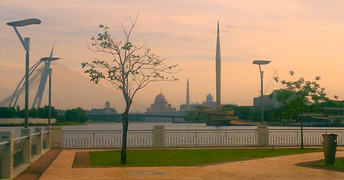 26032011-Good morning at Putrajaya