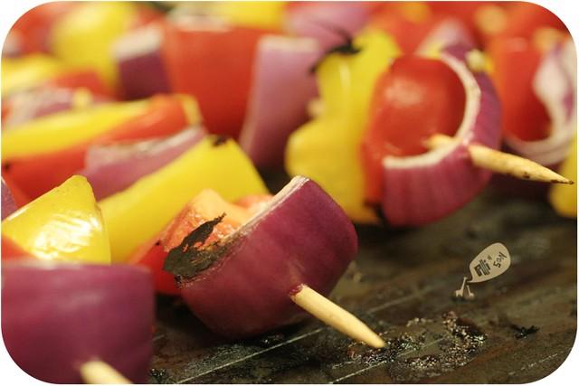 Grilling Veggies