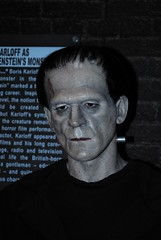 Boris Karloffs Frankenstein 1 (digital_drifter72) Tags: newyork frankenstein horror boris wax waxfigure madametussuads boriskarloff karloff madametussaudsnewyork