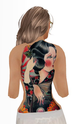 -=Geisha=- V2 Tattoo by Iren