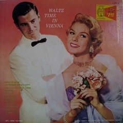 Waltz Time in Vienna (johnpurlia) Tags: flowers records love vintage couple vinyl romance lp record albumcover bouquet date whitetuxedo waltztimeinvienna
