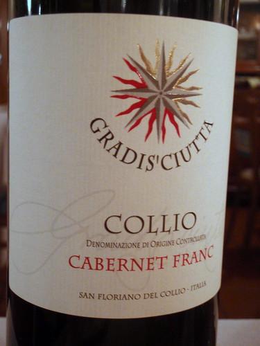 2007 Gradisciutta Cabernet Franc - Collio DOC