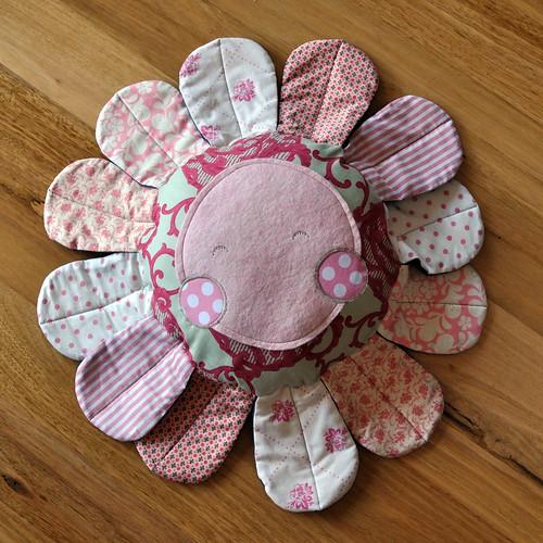 onegirl fleur pillow