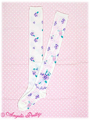 Sugar Pansy Socks white (Secret_RoseGarden) Tags: white socks pretty pansy sugar angelic otks