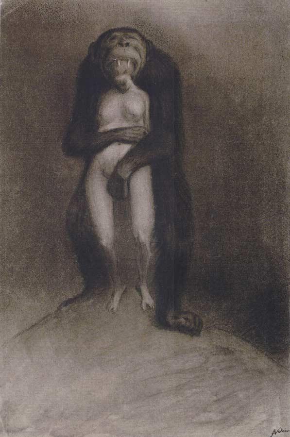 Alfred Kubin - The Ape, 1903-04