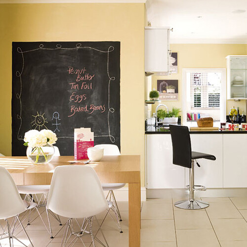 Modern family kitchen diner  via housetohome.co.uk