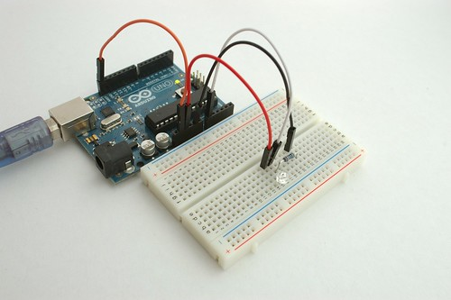 How to use photo IC diode S9648 / Arduino