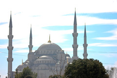 The Beautiful Blue Mosque (TheEye4Art) Tags: turkey spring muslim islam istanbul mosque bluemosque minarets sultanahmedmosque
