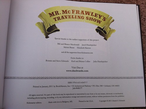 Mr McFrawly's Traveling Show