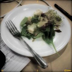 Abendessen im Büro
